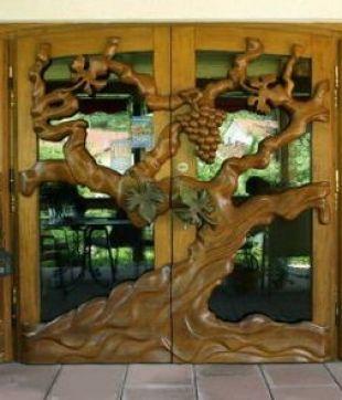 Hotel Dernbachtal Tür